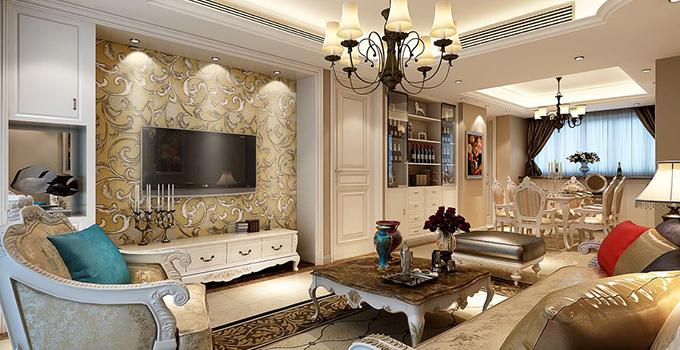 2016欧式客厅装修效果图实拍大全