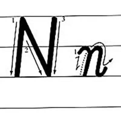 英文字母手写体笔顺_26个英文字母的书写规格和笔顺教得越晚越难