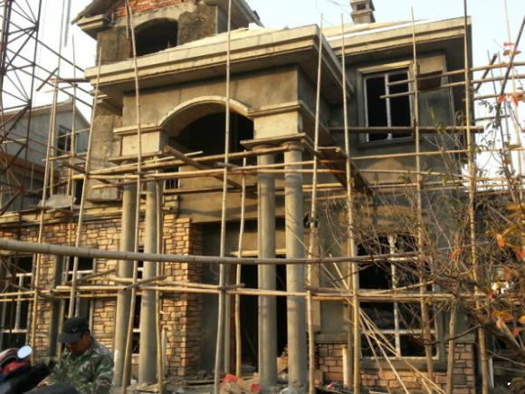 农村自建经济型别墅过程