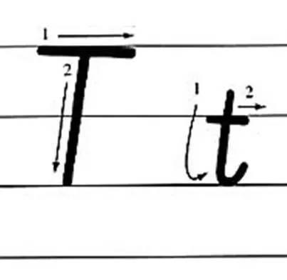英文字母手写体笔顺_26个英文字母的正确书写笔顺_泡泡少儿_长沙