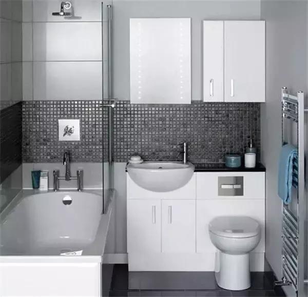 洗脸盆马桶一体化,卫浴室节省空间的法宝!