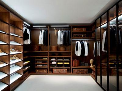 开放式衣帽间衣柜的设计,谁不爱?图片