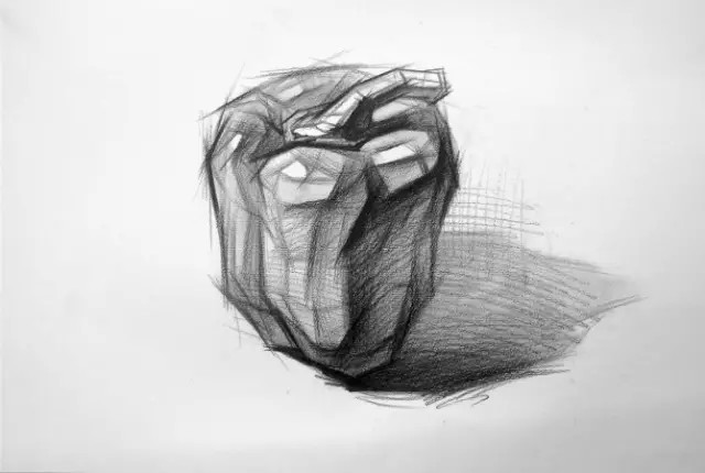 素描静物单个物体刻画图片
