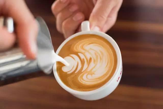 咖啡拉花|慢镜头回放 rosetta 全过程