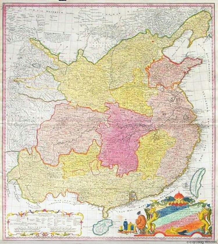 古代欧洲人绘制的中国地图是啥样?