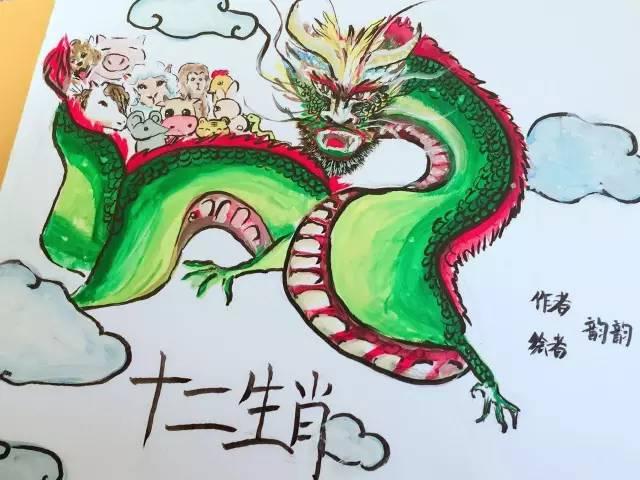 【我是小小插画师】宝贝们每天都看绘本,他/她亲手画过吗?图片