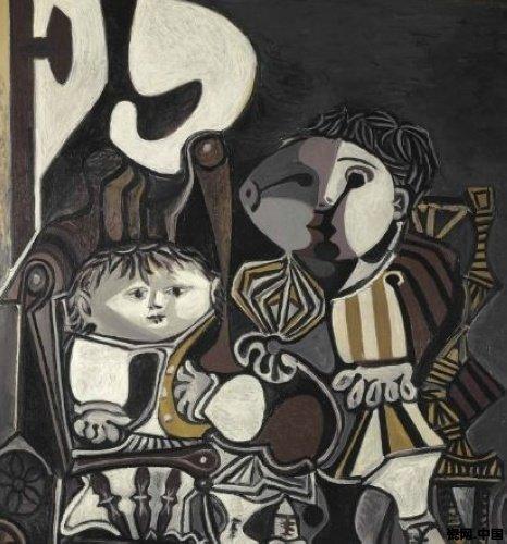 毕加索经典名画欣赏 艺术作品