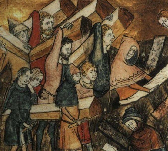 魏健 中世纪与黑死病 在疾病中诞生的现代文明