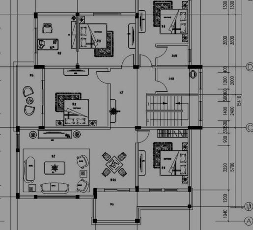 欧式卫生间手绘效果图立面图