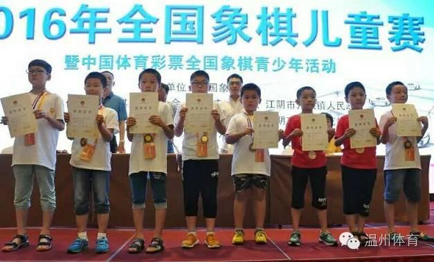 各大象棋赛事轮番开战?温州象棋选手们频出佳绩图片