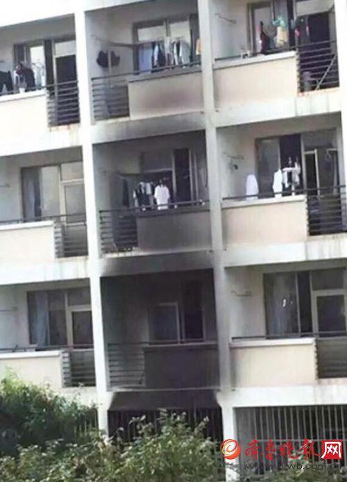 烟台大学公寓起火 消防安全需谨慎