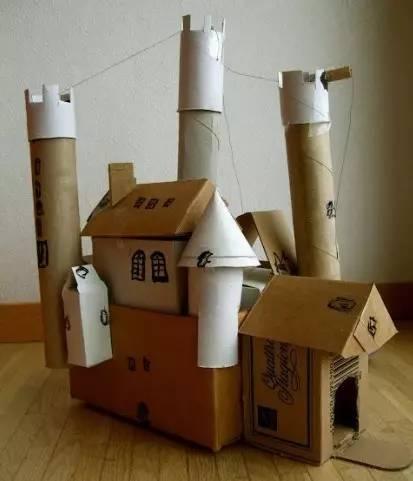 【教师篇】废旧纸箱创意diy