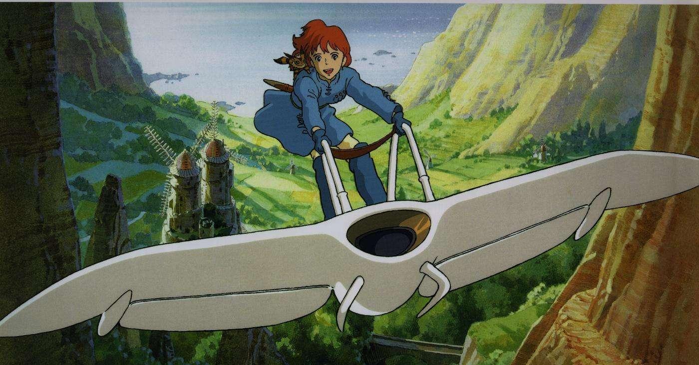 宫崎骏成名作《风之谷》图片