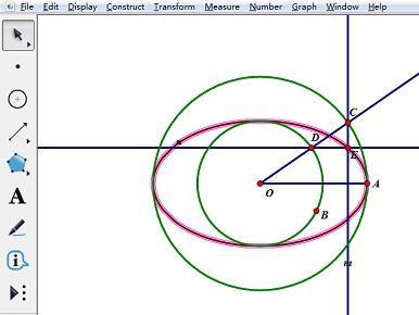 利用曲线方法生成几何椭圆的画板介绍征集网平面设计图片