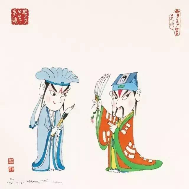 呆萌搞笑:水浒108将被蔡志忠玩出花了