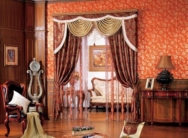 """长沙窗帘领导者""""若梦软装"""":欧式窗帘效果图图片"""