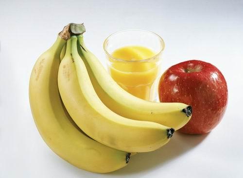 香蕉减肥食谱润肠通便轻松瘦搭配减肥水果汁图片
