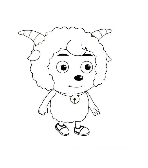 喜羊羊简笔画 简笔画大全 画画图片大全