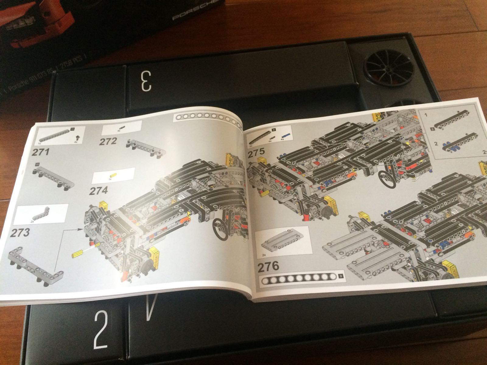 科技正文好厚一本乐拼911说明书,全书856步,239页v科技清晰,指向.好评法图解图片