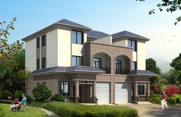 新农村自建15x11米三层别墅,可独栋可双拼!