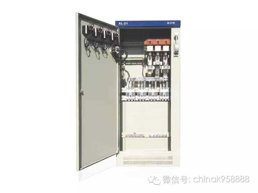 动力柜电柜接线实物图