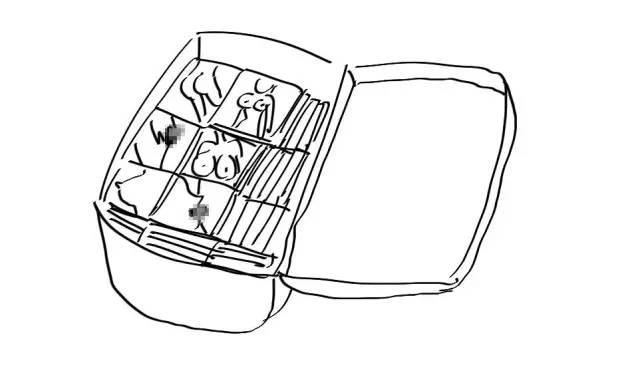 拖着行李箱的女孩简笔画