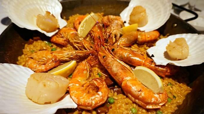 北京最俘虏的西班牙海鲜饭地图集第的几布布美食美味图片