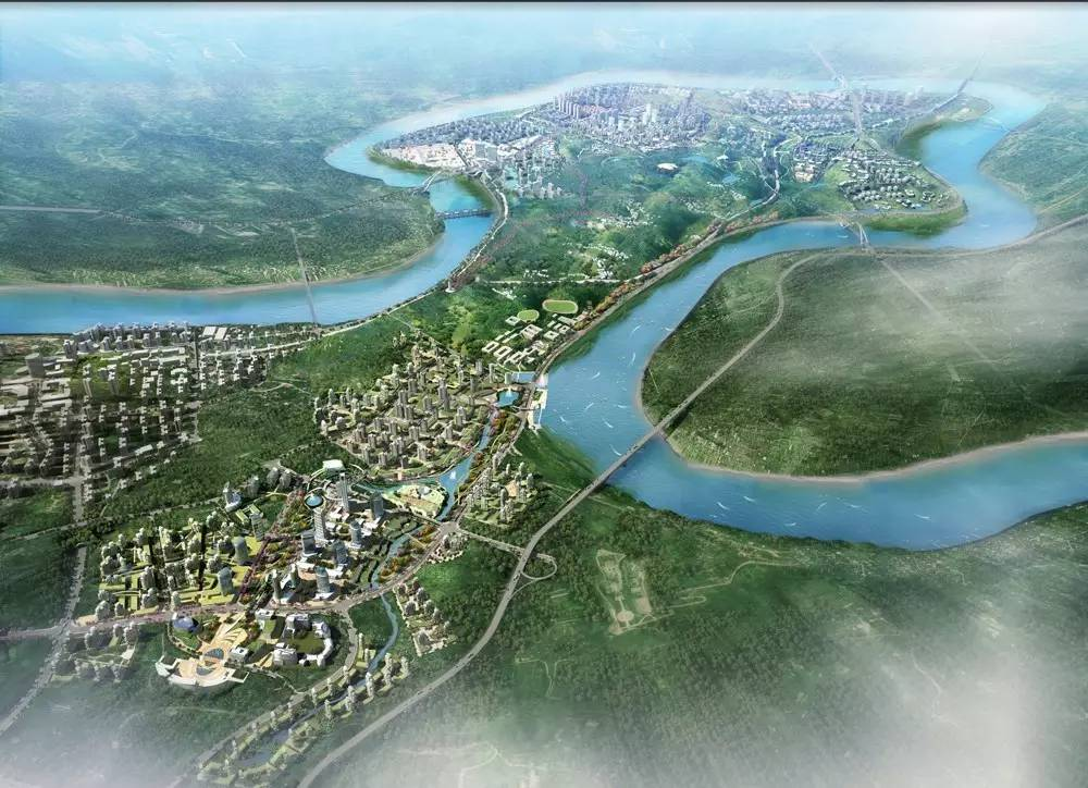 城南新区规划图