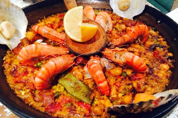 北京最美味的西班牙海鲜饭美食-搜狐吃喝镇江西津渡地图图片