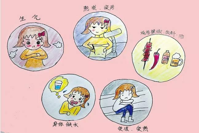 白衣天使在行动:护士漫画手绘口腔溃疡护理小badboys儿科图片