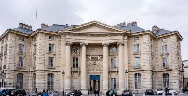 去法国巴黎第二大学留学吧图片