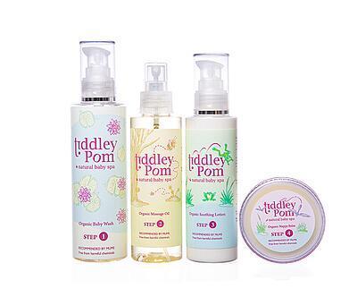 英国母婴用品 Tiddley Pom婴幼儿SPA护肤品