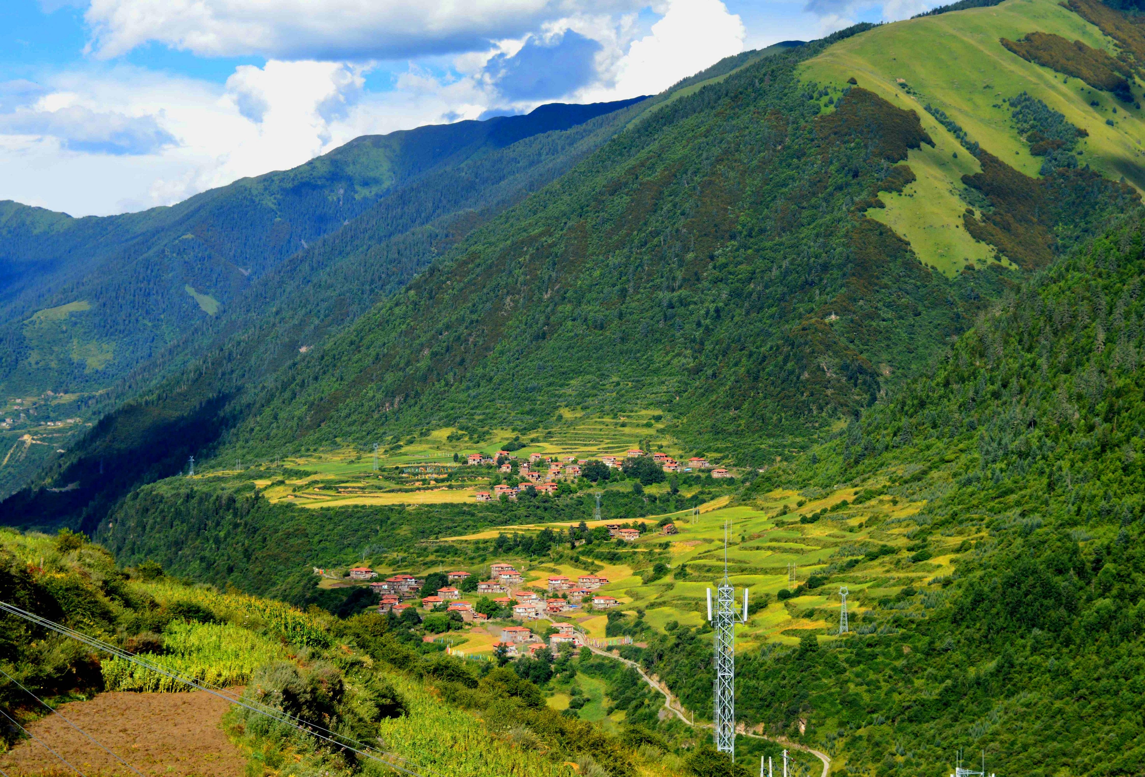我带你去腾龙夏州达尔基寺祈福、修行,看风景!