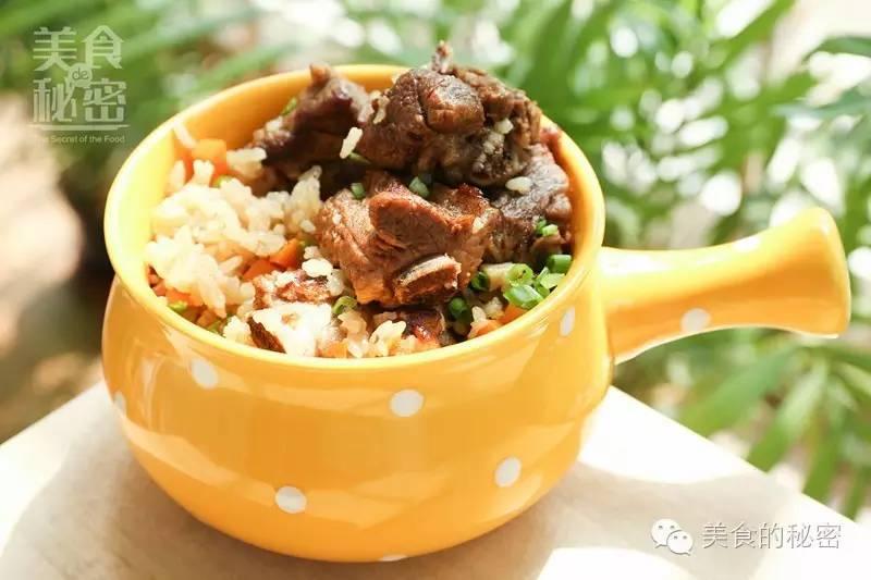 懒人版排骨焖饭 电饭煲也可以做大餐