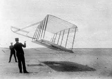 莱特兄弟制作的双身风筝