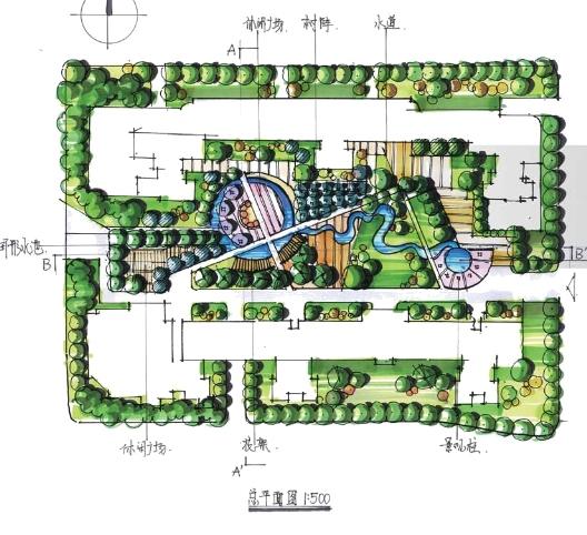 植物快题设计平面图