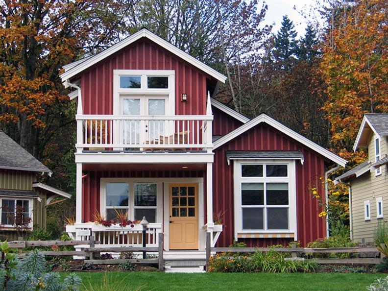 美式别墅7米x13米含平面图 农村建房可否参考?