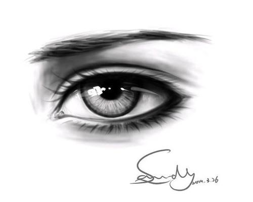 一大波手绘眼睛素材,一定要收藏哦!