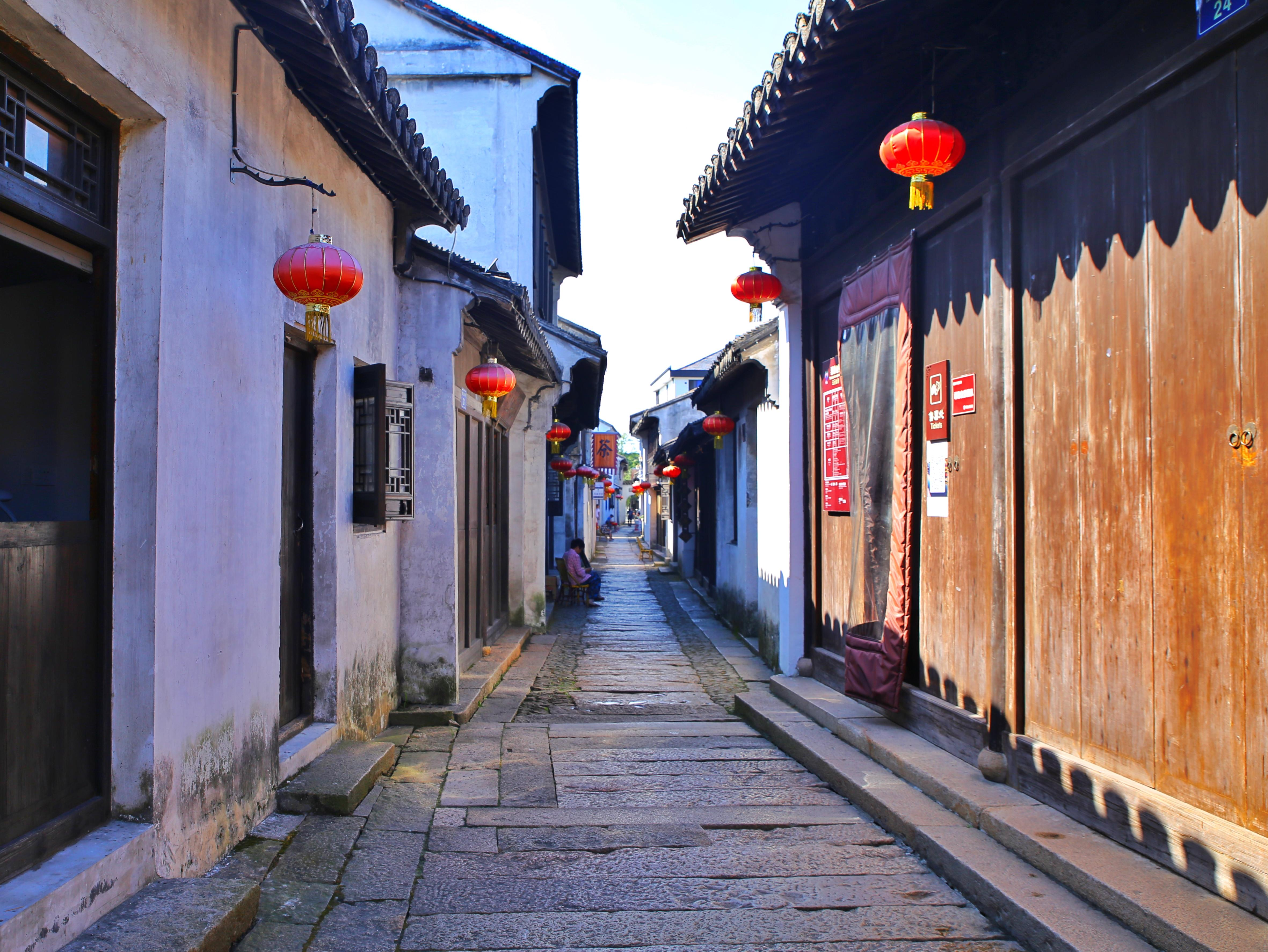 逸情于景,隐匿在江南的古镇生活!