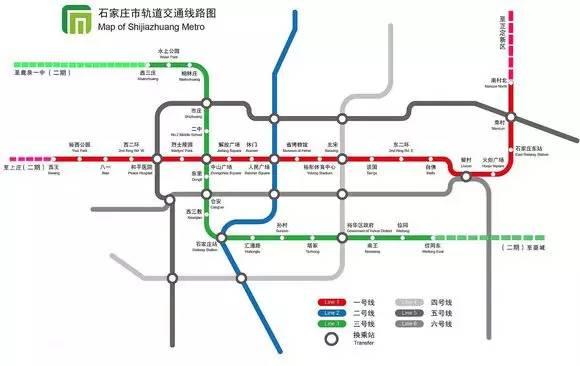 定了,石家庄52个地铁车站位置及名字最终确定
