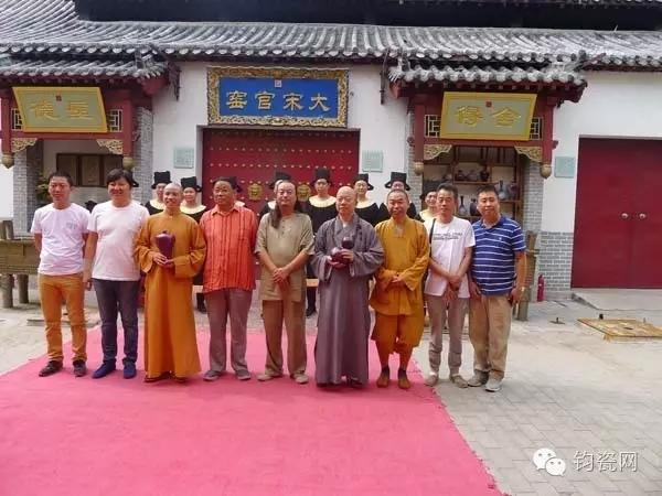 上海龙华寺 洛阳白马寺方丈为啥齐访钧瓷