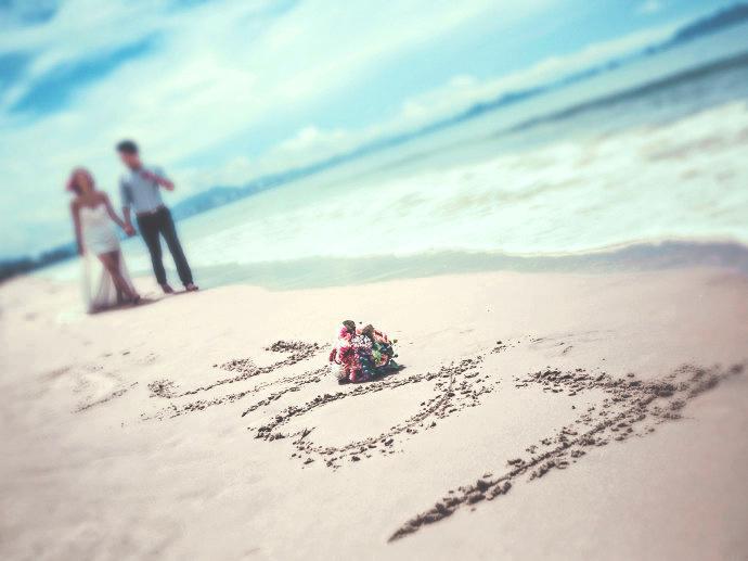 去海岛 你得这么晒照片