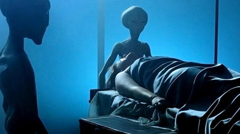 外星人真的来地球了图片