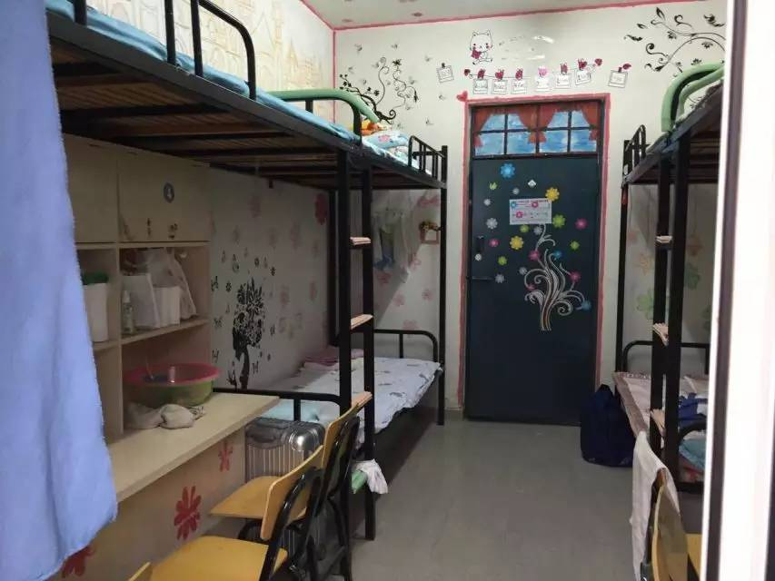 一看就是女生宿舍,很用心,装扮的美美哒图片