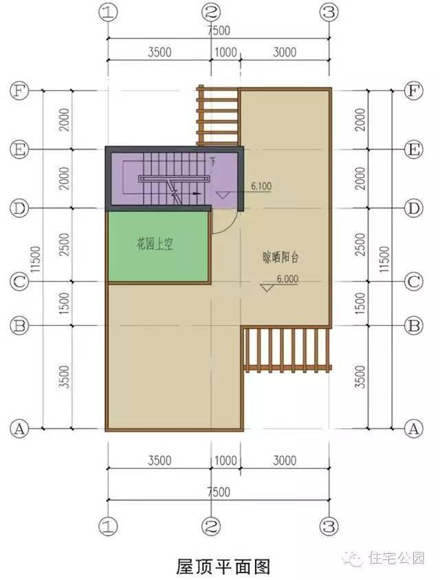 新农村自建房 7.5米x11.5米