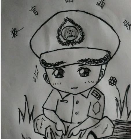儿童画 简笔画 手绘 线稿 453_480