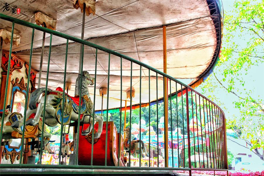 在重庆游乐园,像20年前一样用童真看世界