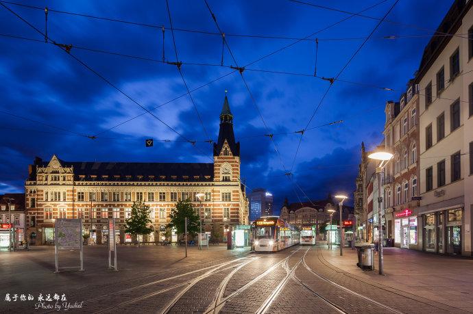 【自驾东欧】带上老婆去德国:漫步于中世纪古城埃尔福特