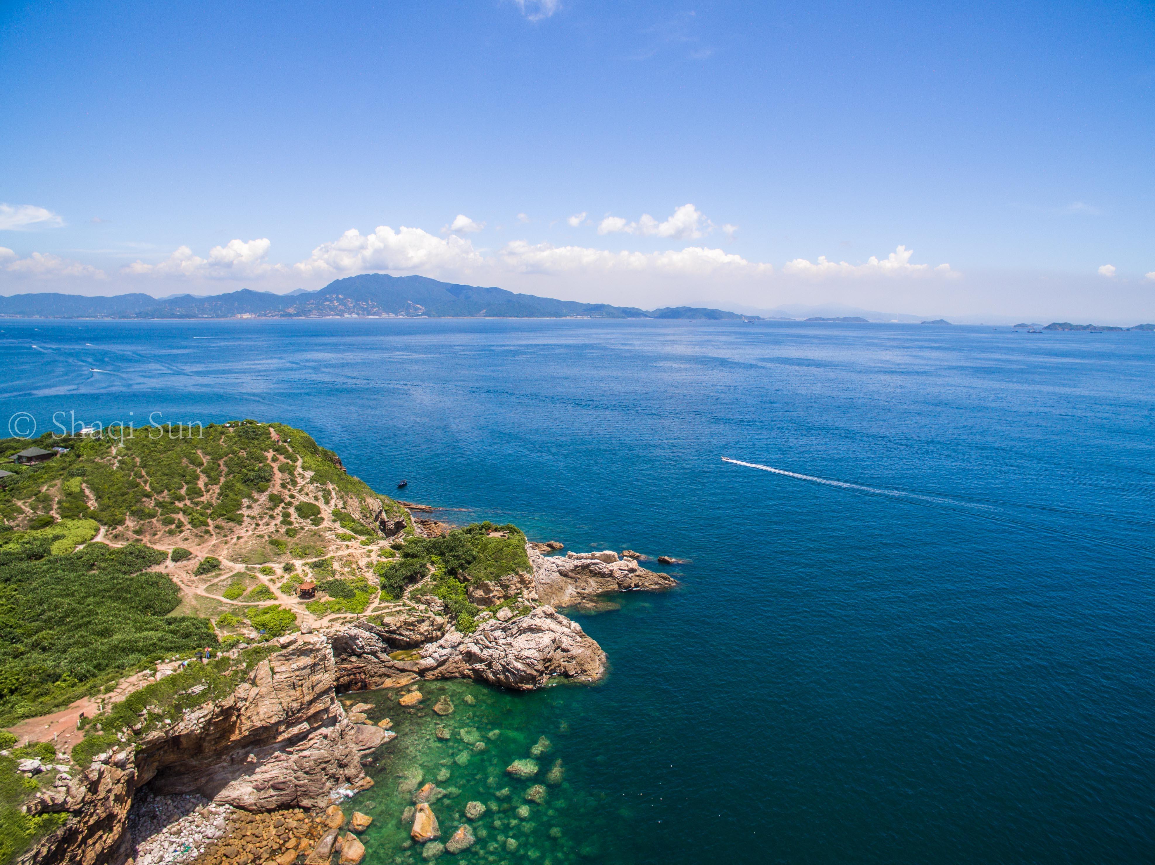 媲美苏梅岛的海岸线,居然在深圳!