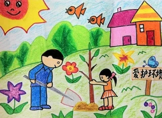 """""""环保伴我成长"""" 儿童环保绘画作品征集.有精美礼品&嘉年华门票送给你!图片"""
